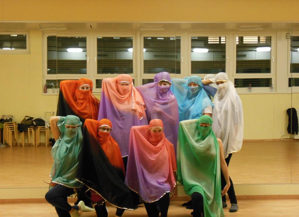 Schülerinnen Haremgirls
